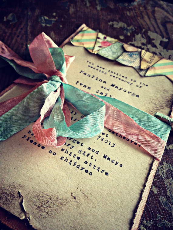 Informal Wedding Invites with beautiful invitation template