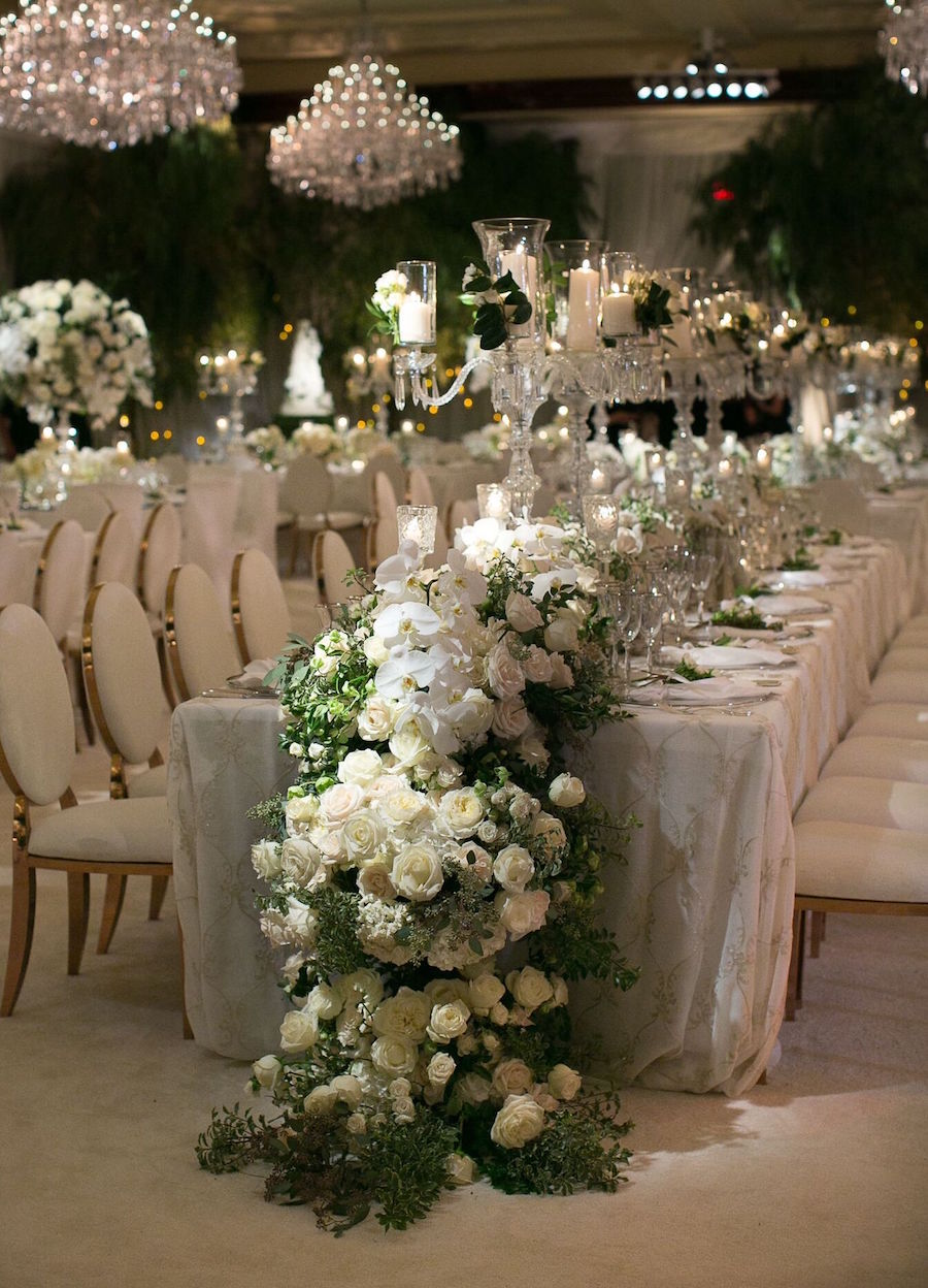 inside weddings, featured, press, garden wedding, lfe, alyson levine fox, four seasons wedding, revelry, revelry event design, luxury wedding, luxury bride, marks garden